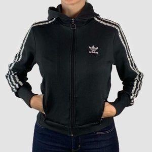 Adidas Firebird Hooded Track Jacket Sz M